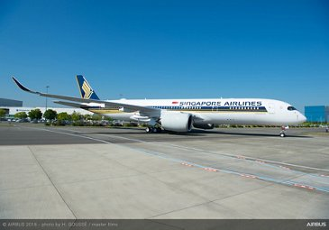 A350-900 Ultra Long Range Singapore Airlines