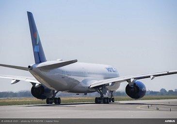 A350-900 world2fly MSN448 Ferry Flight