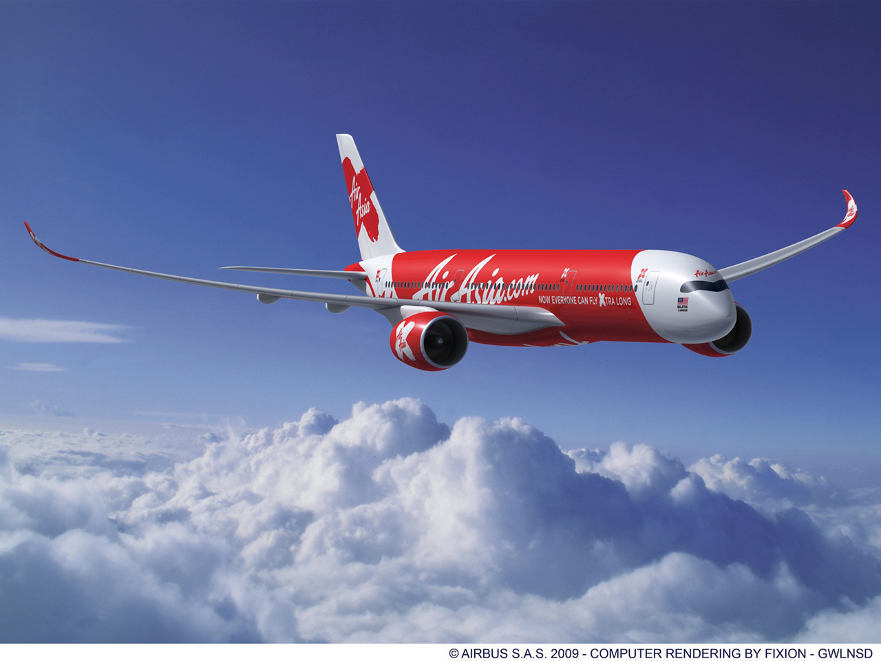 AirAsia X, the long haul low cost affiliate of Malaysia's AirAsia Group, has placed a firm order with Airbus for 10 A350 XWB aircraft.