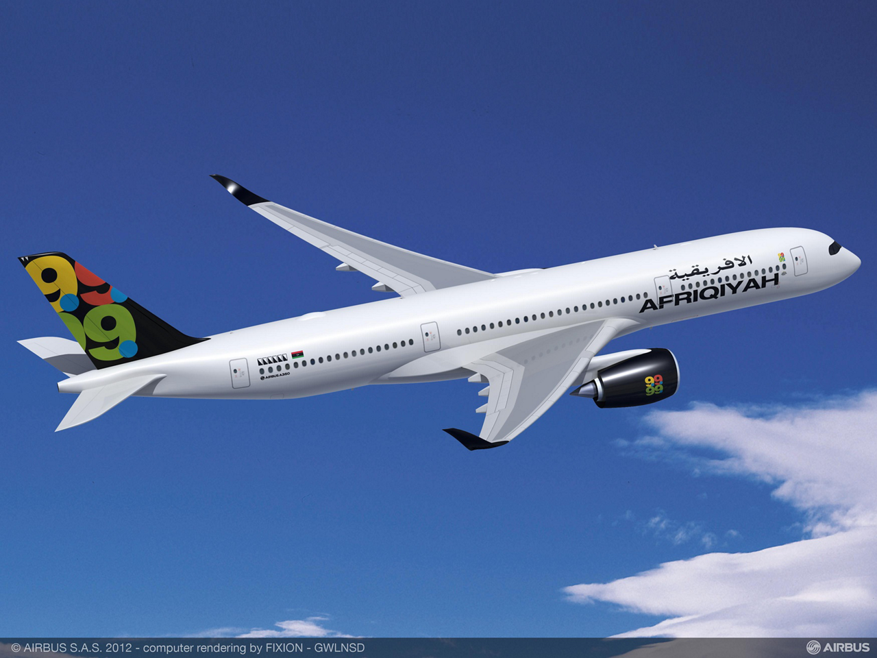 Afriqiyah Airways places firm order for four more A350 XWBs