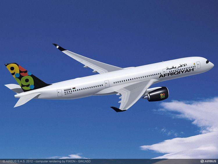 A350-900 Afriqiyah