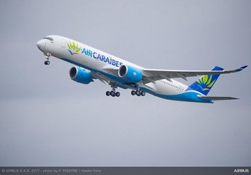 A350 900 Air Caraibes Take off