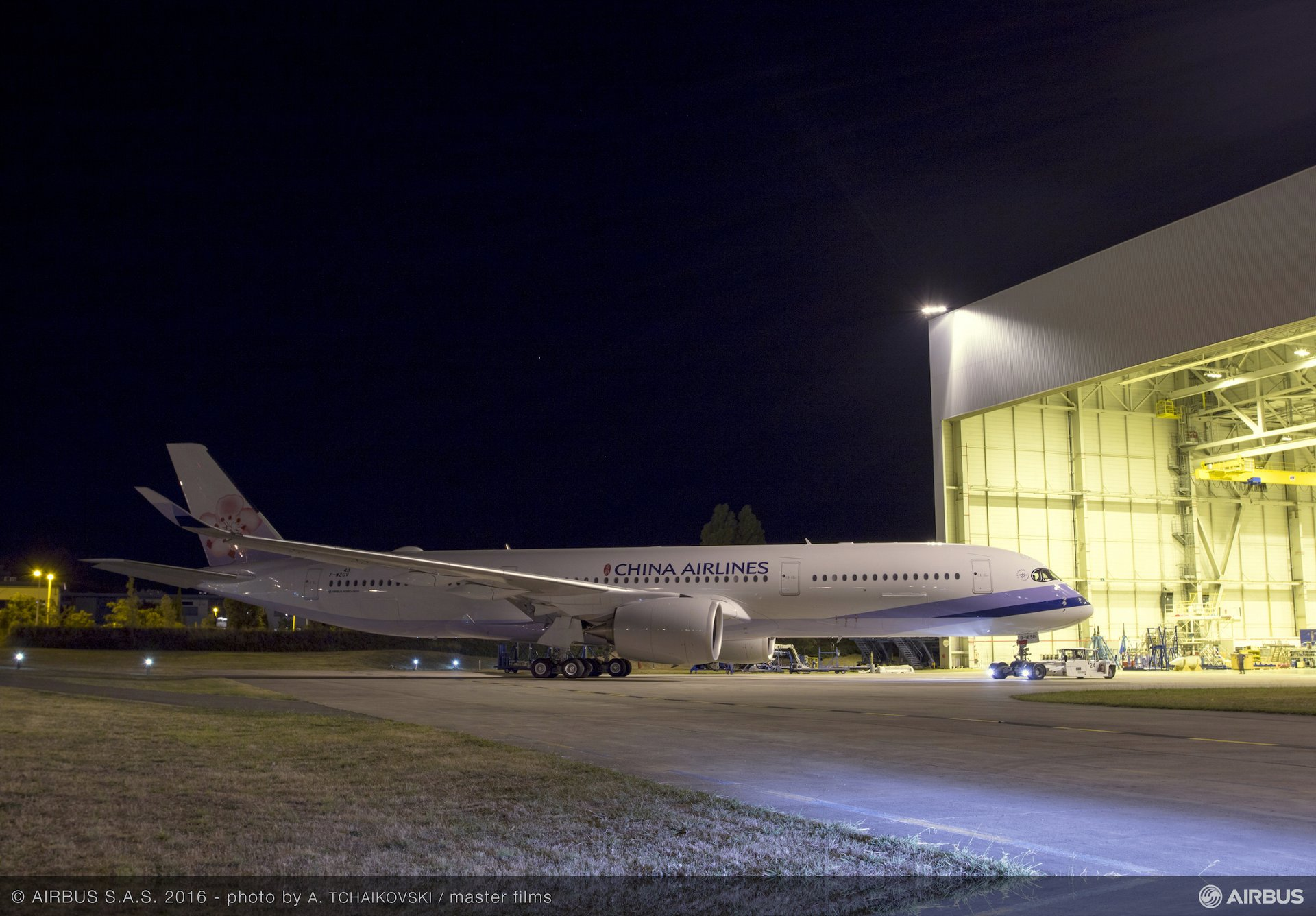 China Airlines' first A350 XWB_1