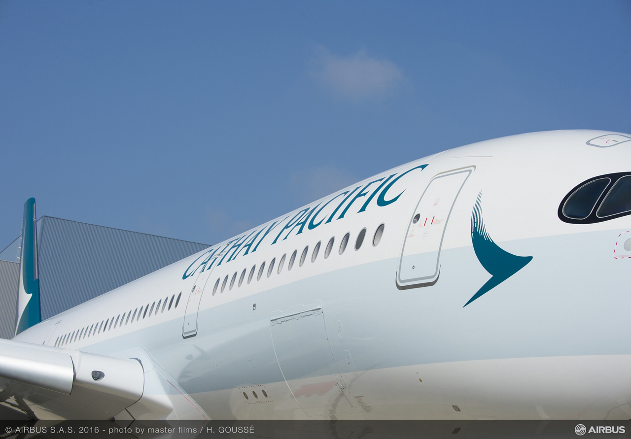 The A350 XWB has been especially successful in the Asia-Pacific region, where major airlines have ordered the jetliner, including Cathay Pacific Airways