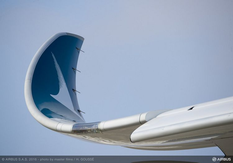 Cathay Pacific first A350-900_wingtip 2