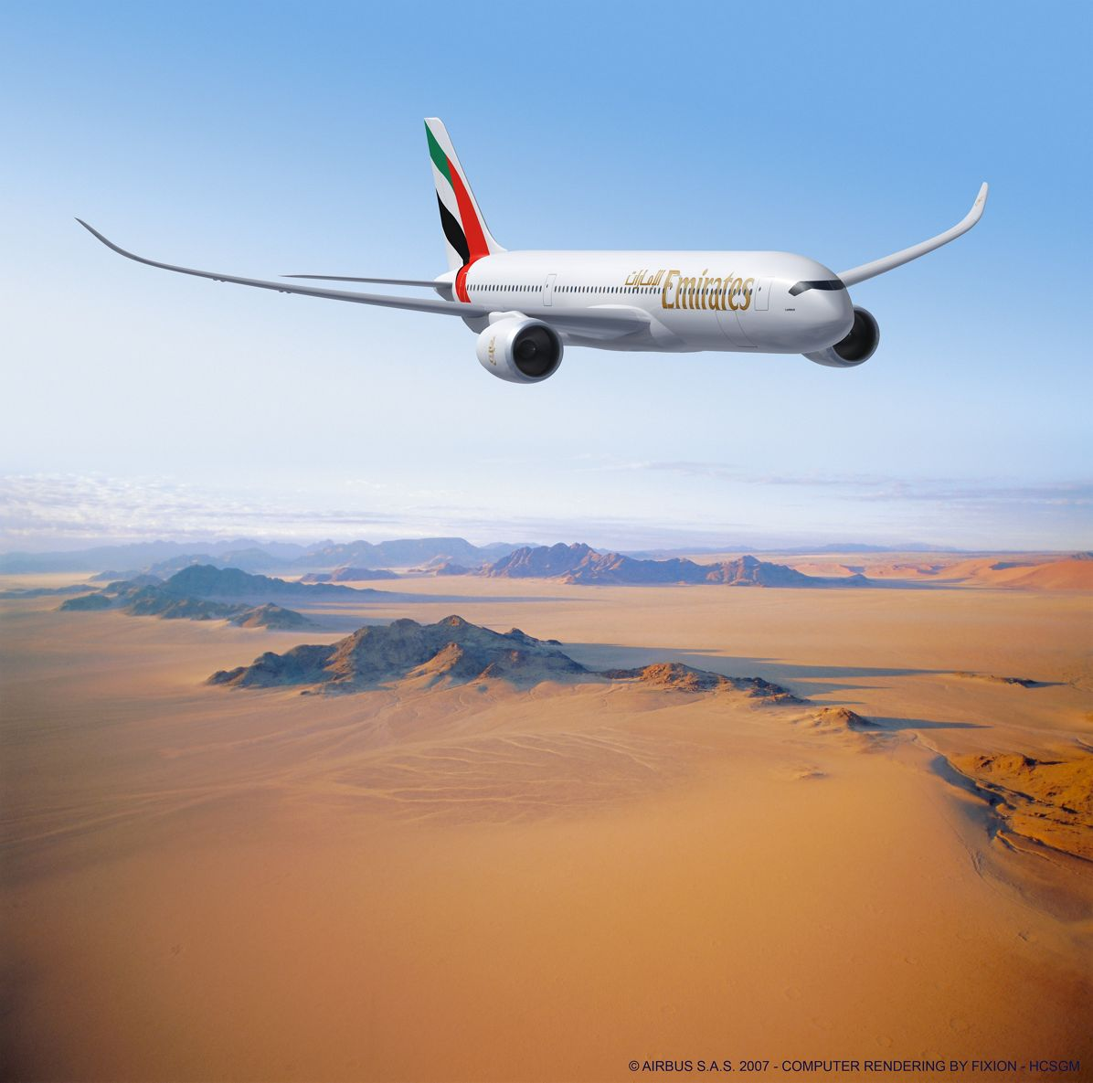 Emirates Airline buys 65 Airbus A350s and 11 additional A380s