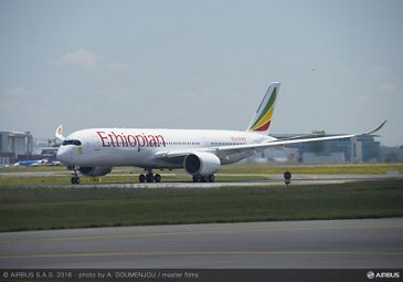 A350-900_Ethiopian Airlines first flight 3