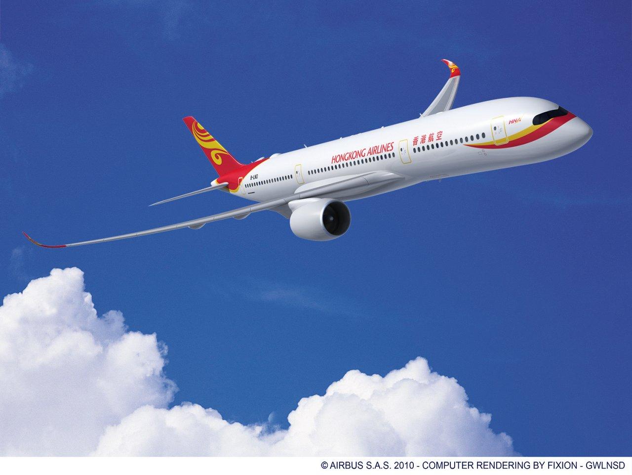 A330-200_AIR_TANZANIA_RR_V07, A350-900 Hong Kong Airlines