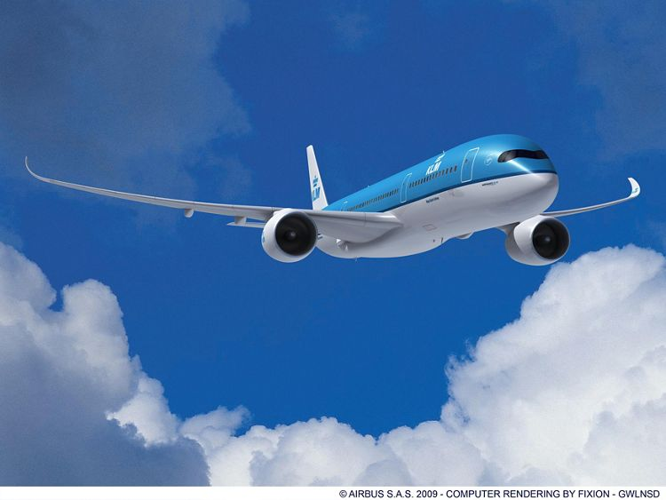 A350-900 KLM