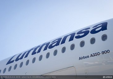 A350-900 Lufthansa delivery – Fuselage