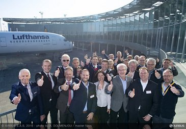 A350-900 Lufthansa delivery