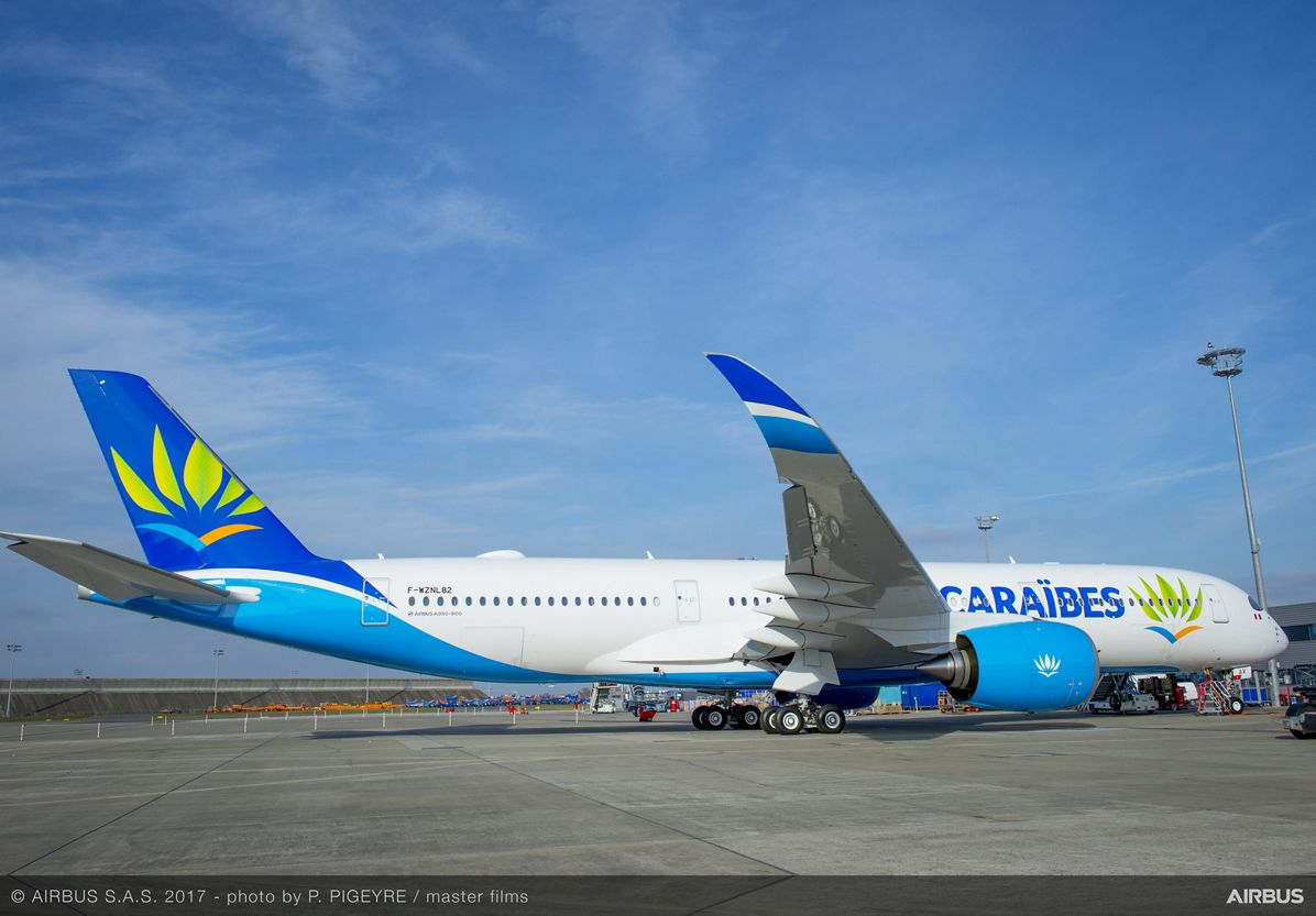 Air Caraïbes' first A350 XWB_ details 3