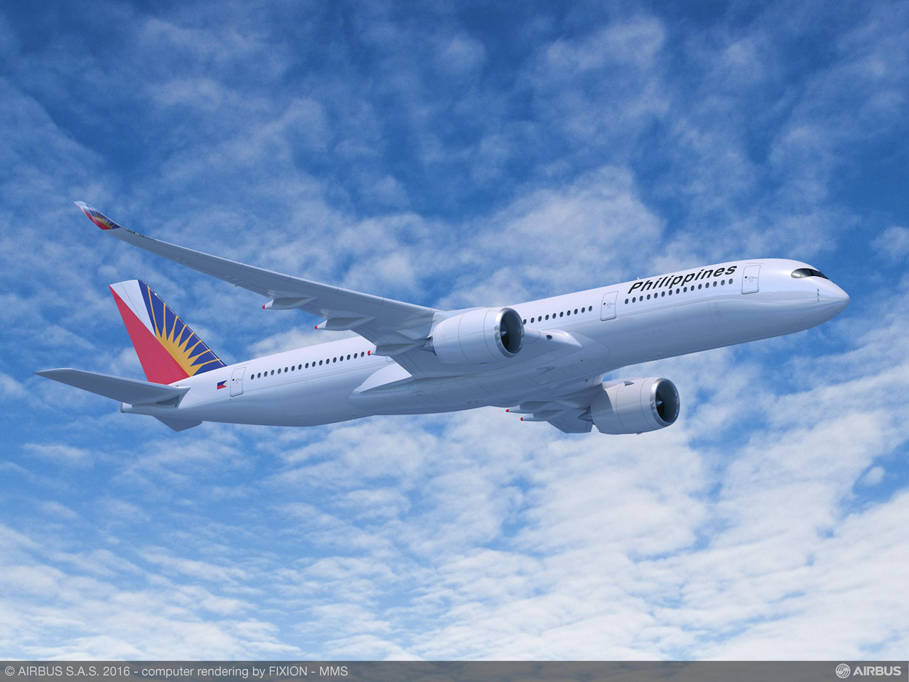 Philippine Airlines (PAL) will use the A350 XWB as the flagship of its future long-haul fleet, operating the highly efficient widebody aircraft on non-stop flights to the U.S. and new destinations in Europe