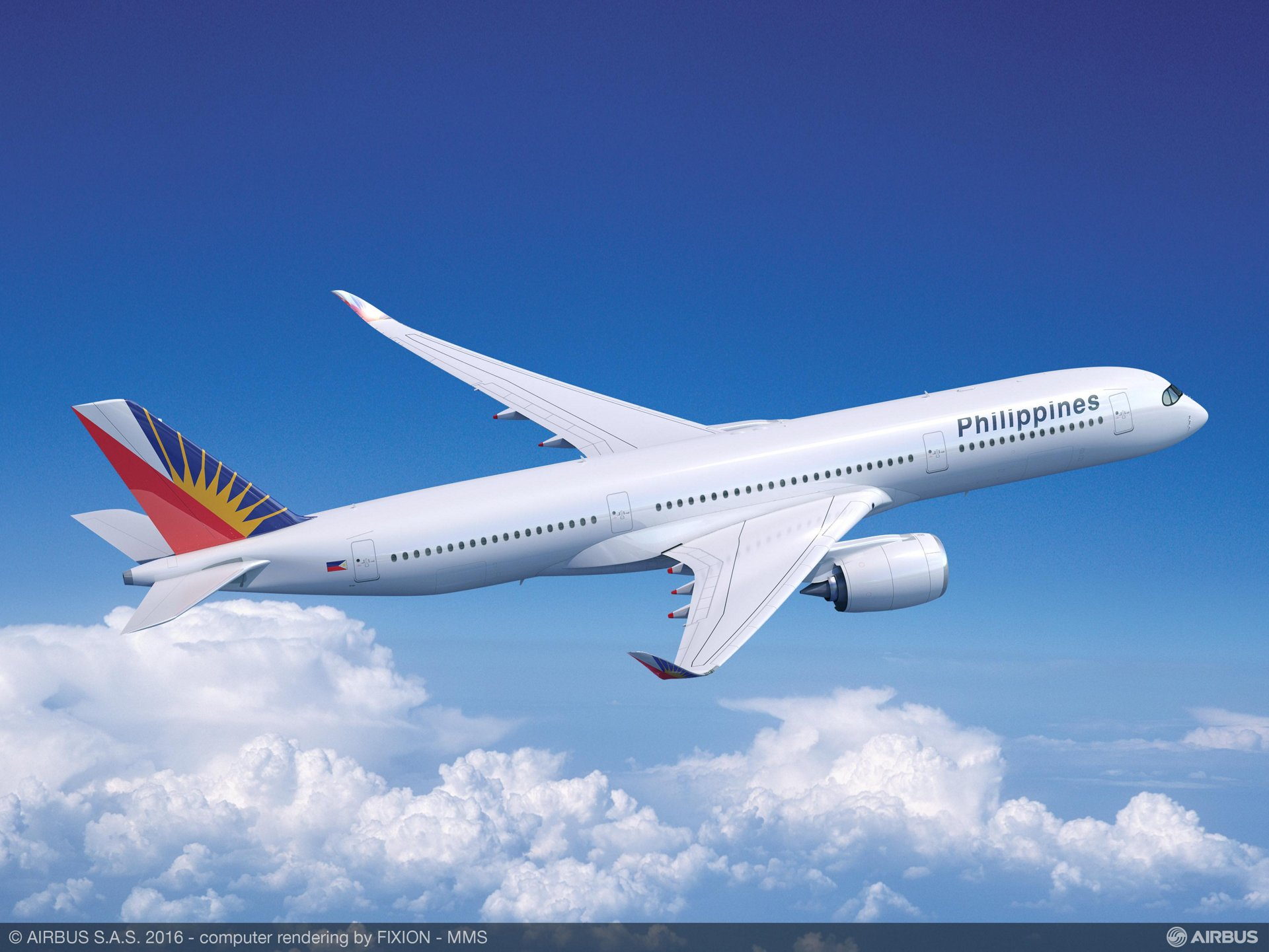 Philippine Airlines selects Airbus Flight Hour Services maintenance solution for its A350-900 fleet