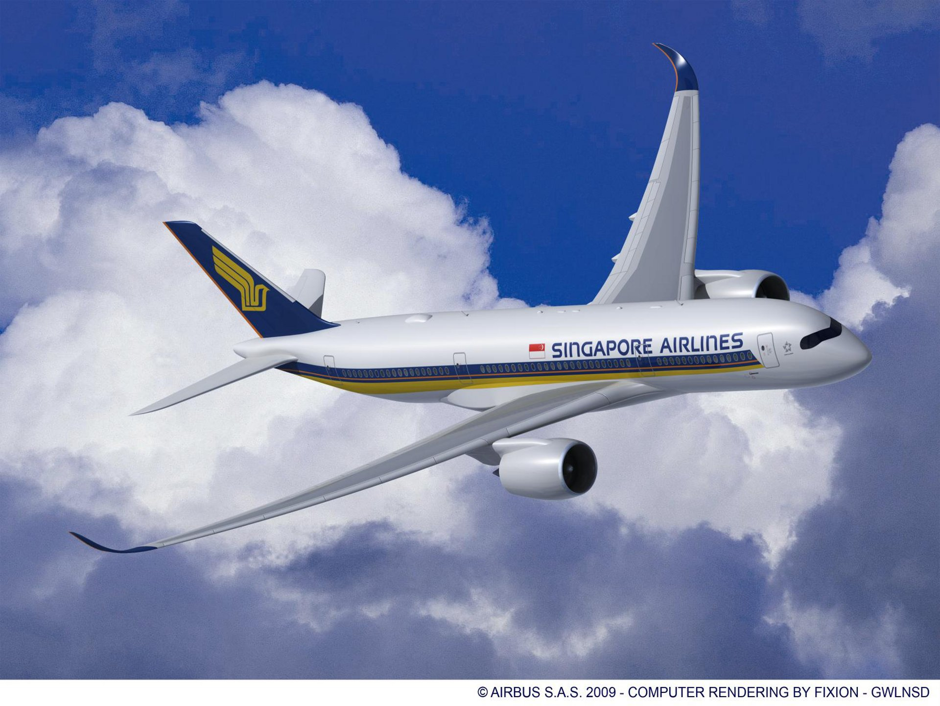 A330-200_AIR_TANZANIA_RR_V07, A350-900 Singapore Airlines