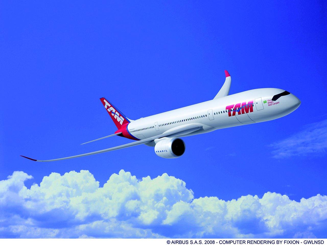 A350-900 TAM july 2010