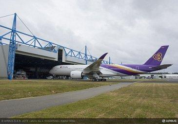 THAI A350 XWB rollout_1