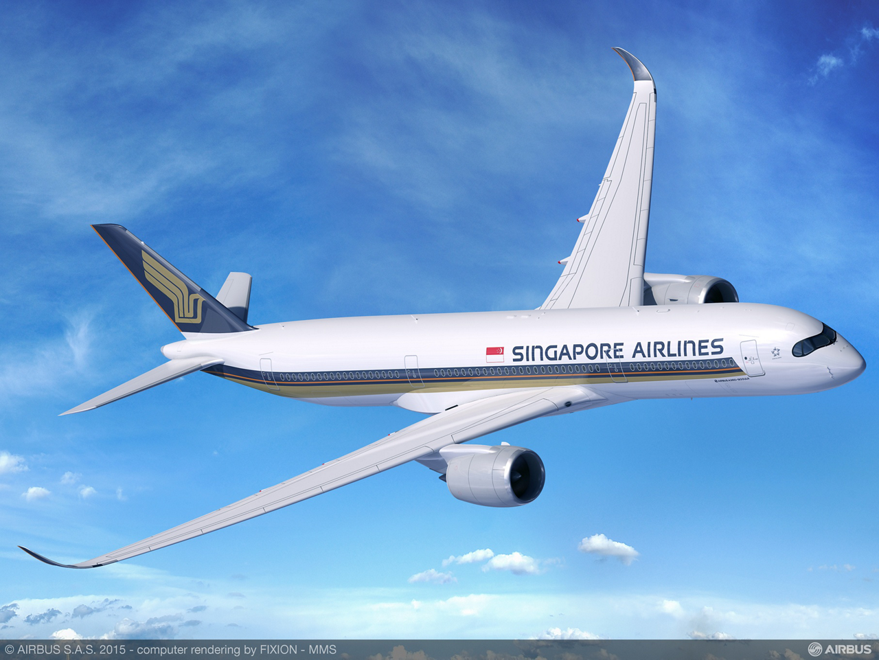 Singapore Airlines selected Airbus' newly launched A350-900 Ultra Long Range version, which includes a modified fuel system, increased maximum takeoff weight and aerodynamic improvements that will allow the jetliner to fly routes of up to 19 hours