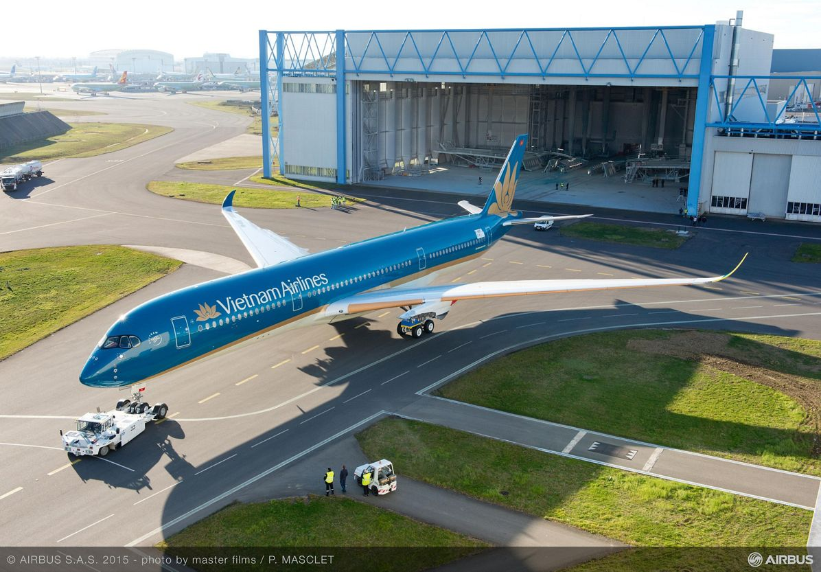 Vietnam Airlines A350 XWB livery reveal_1