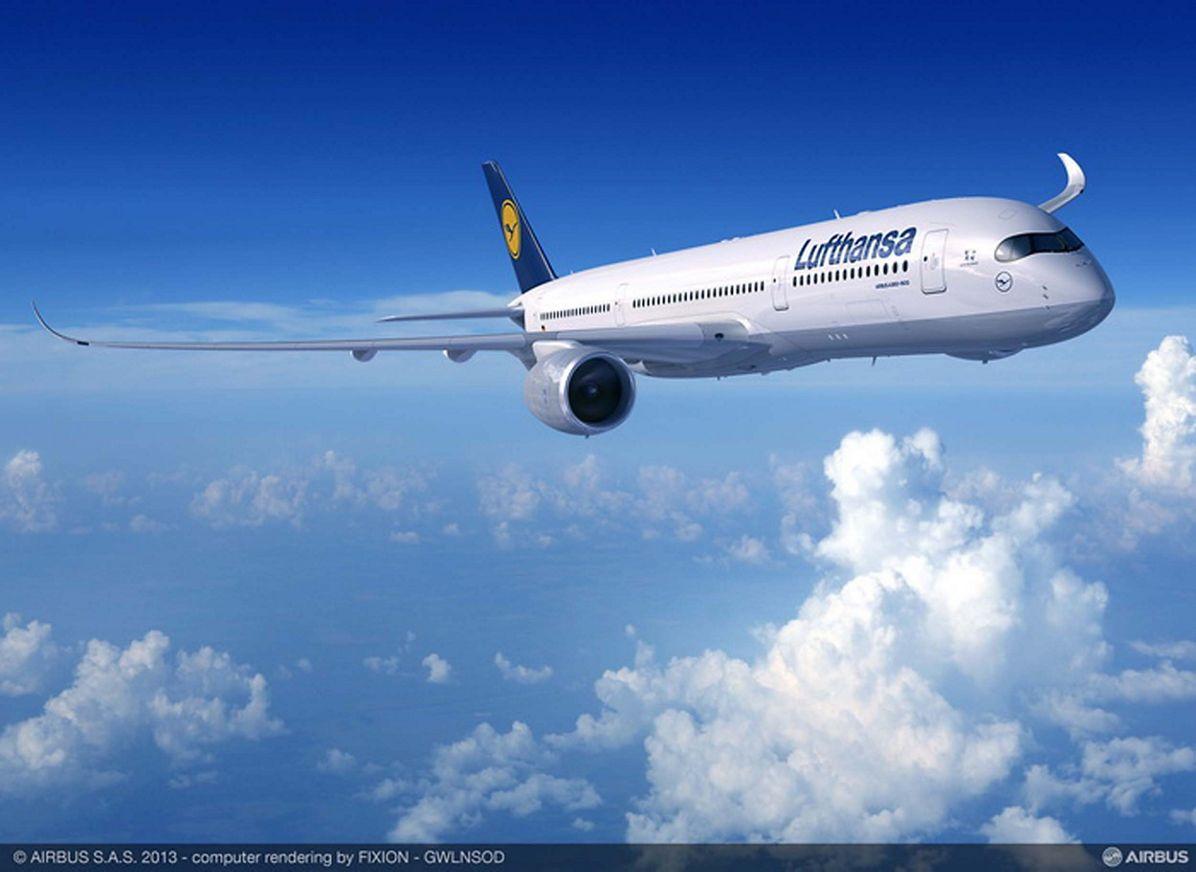 , A350-Lufthansa