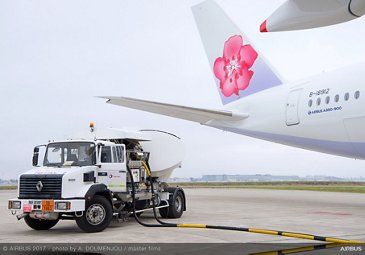 A350 XWB China Airlines First Flight With Sustainable Fuel