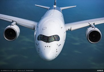 A350 XWB In Flight