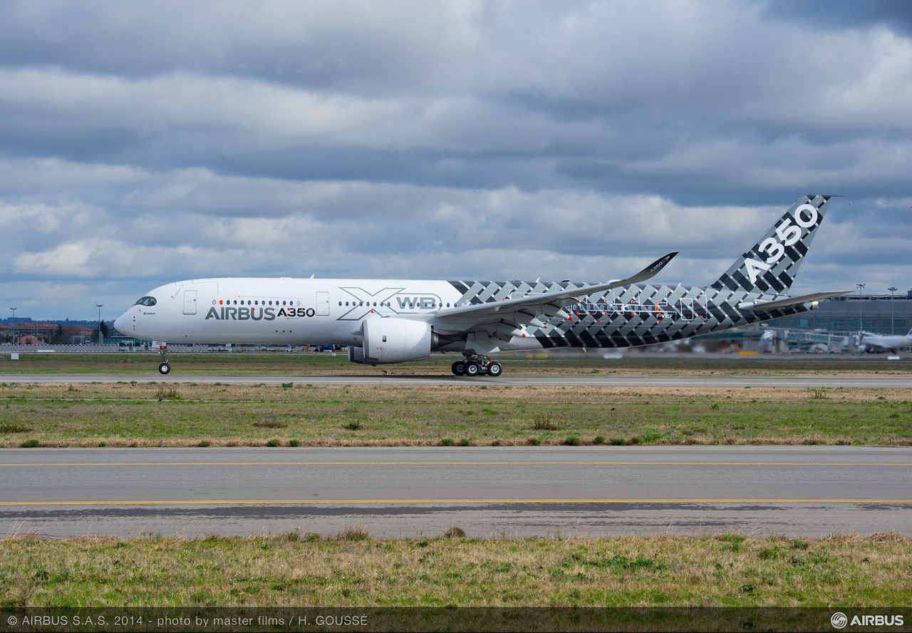 MSN2, which performed its maiden flight from Toulouse, France on 26 February 2014, is the first A350 XWB developmental aircraft to feature a full cabin – enabling Airbus to start testing and validating all the new jetliner's cabin- and passenger-related systems