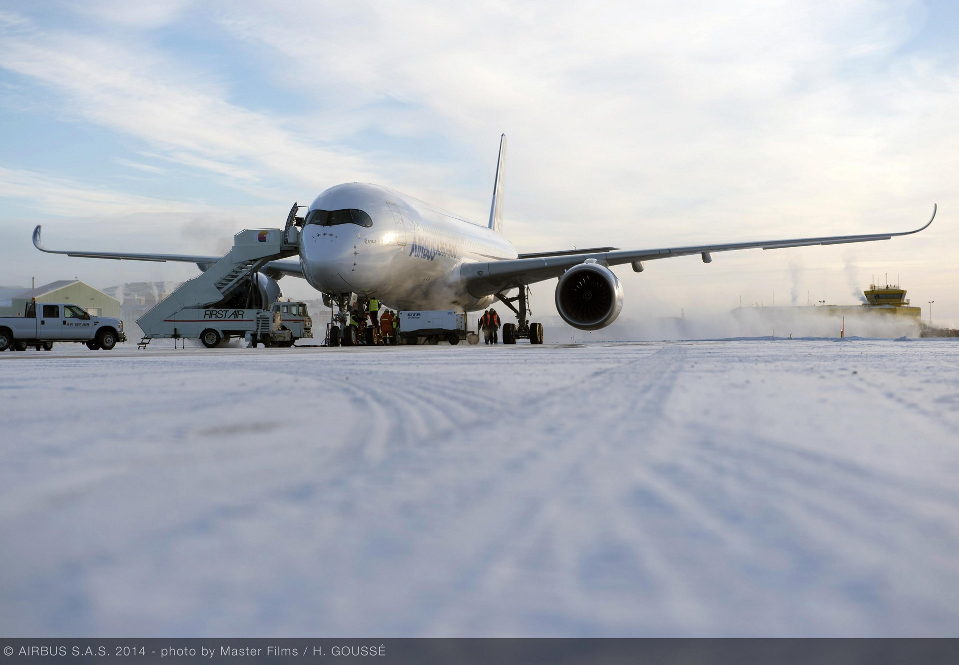 A350 Cold weather test 02