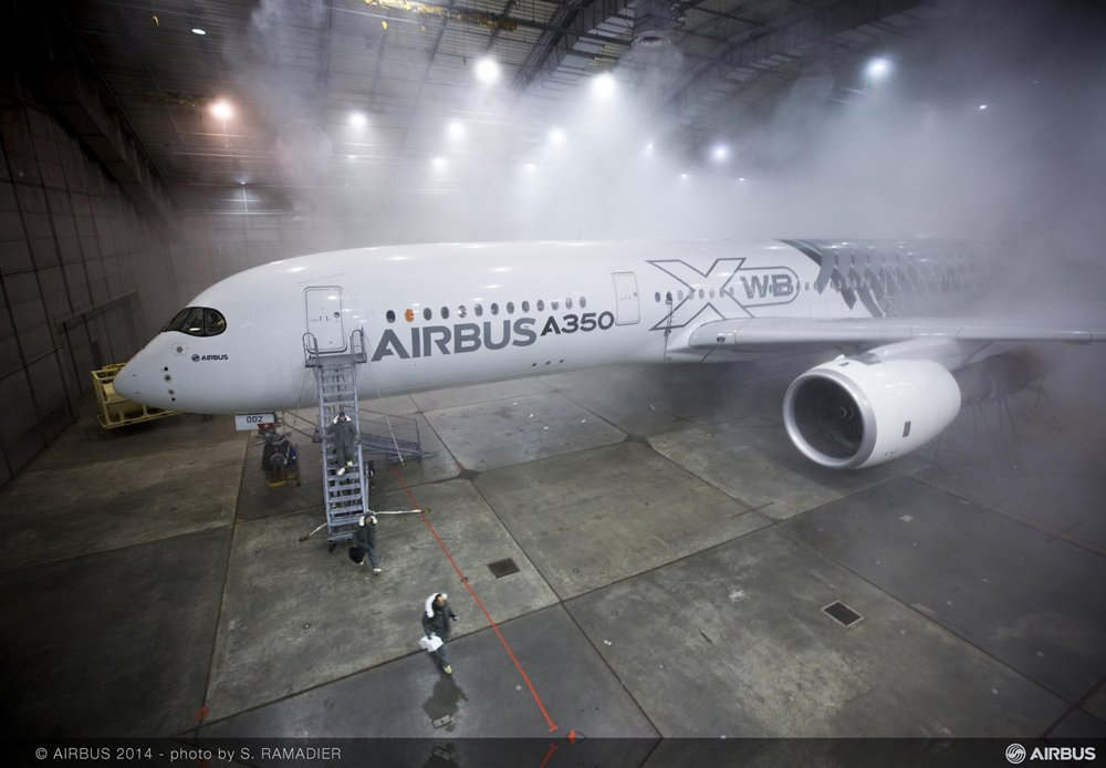 A350 XWB 鈥� McKinley cold weather test 1