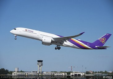 THAI A350 XWB first flight_2