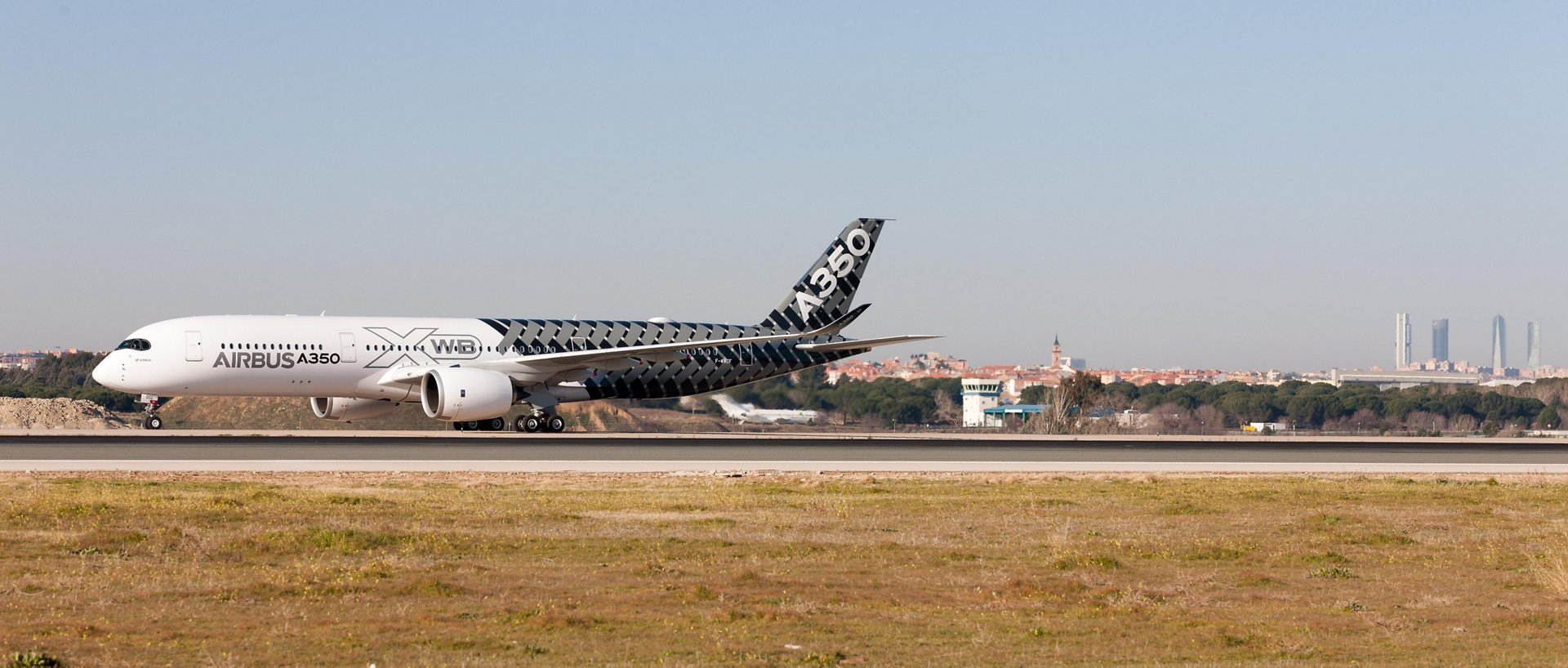 A350 XWB debut at Madrid-Barajas 1