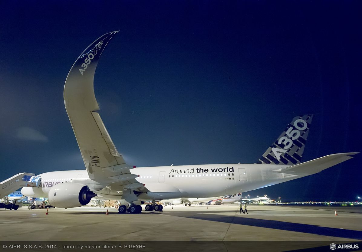 A350 XWB ON THE GROUND - ROUTE PROVING - TRIP 2 - SINGAPORE, A350 XWB route proving: Singapore_2