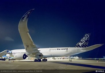 A350 XWB ON THE GROUND - ROUTE PROVING - TRIP 2 - SINGAPORE
