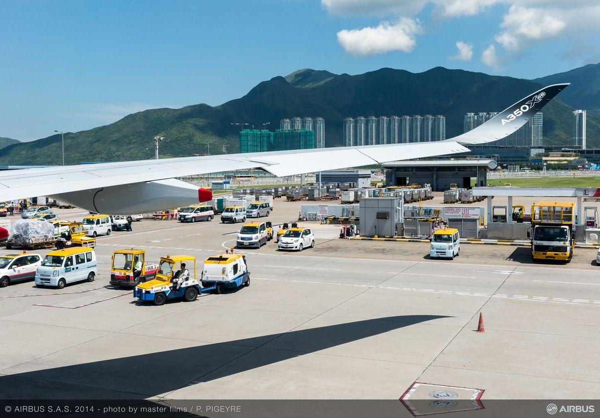 A350 XWB - ROUTE PROVING - TRIP 2 - AT HONG KONG, A350 XWB route proving: Hong Kong_1