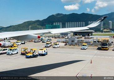 A350 XWB - ROUTE PROVING - TRIP 2 - AT HONG KONG