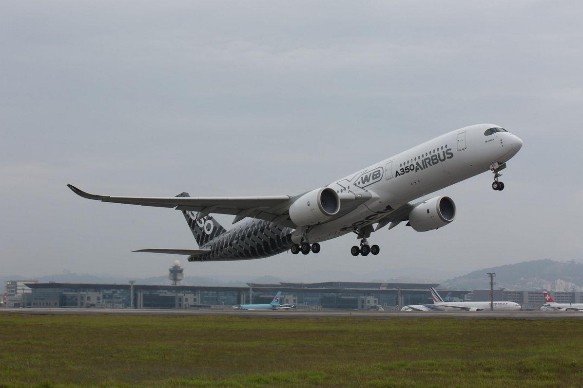 A350 XWB_Americas Tour Sao Paulo 1