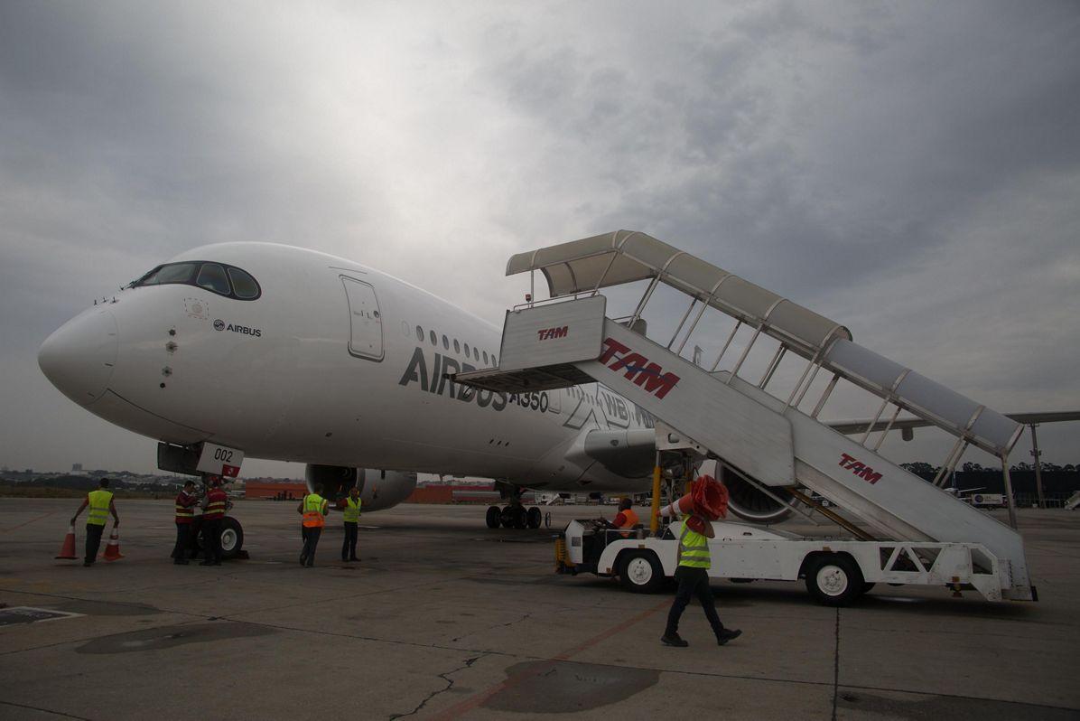 A350 XWB_Americas Tour Sao Paulo 2