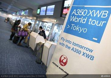 A350 XWB Asian demo tour – Tokyo 7