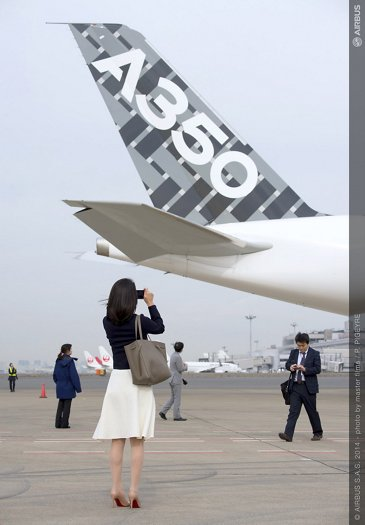A350 XWB Asian demo tour – Tokyo 8