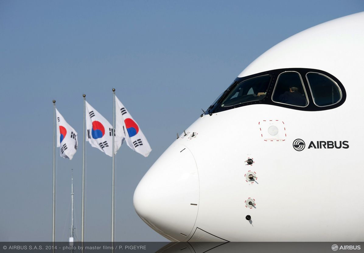 A350 XWB Asian demo tour – Seoul 1