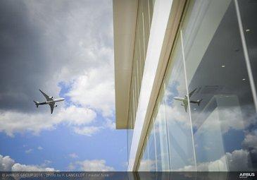 Farnborough Airshow_Day 4_A350 XWB flying display 2