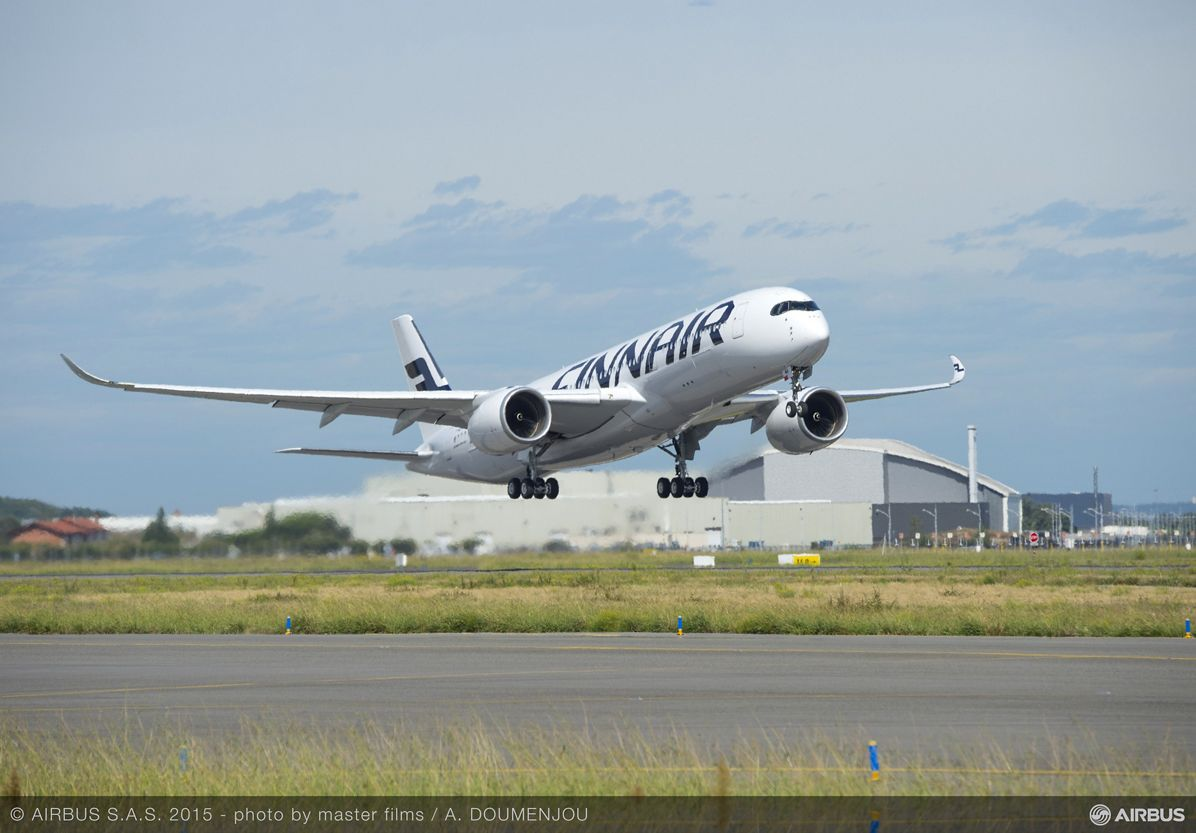 A350 XWB_Finnair maiden flight 2