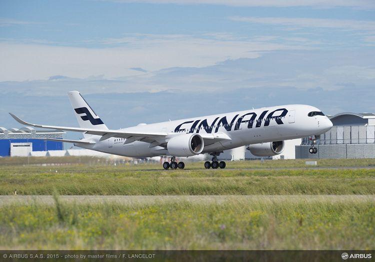 A350 XWB_Finnair maiden flight 2