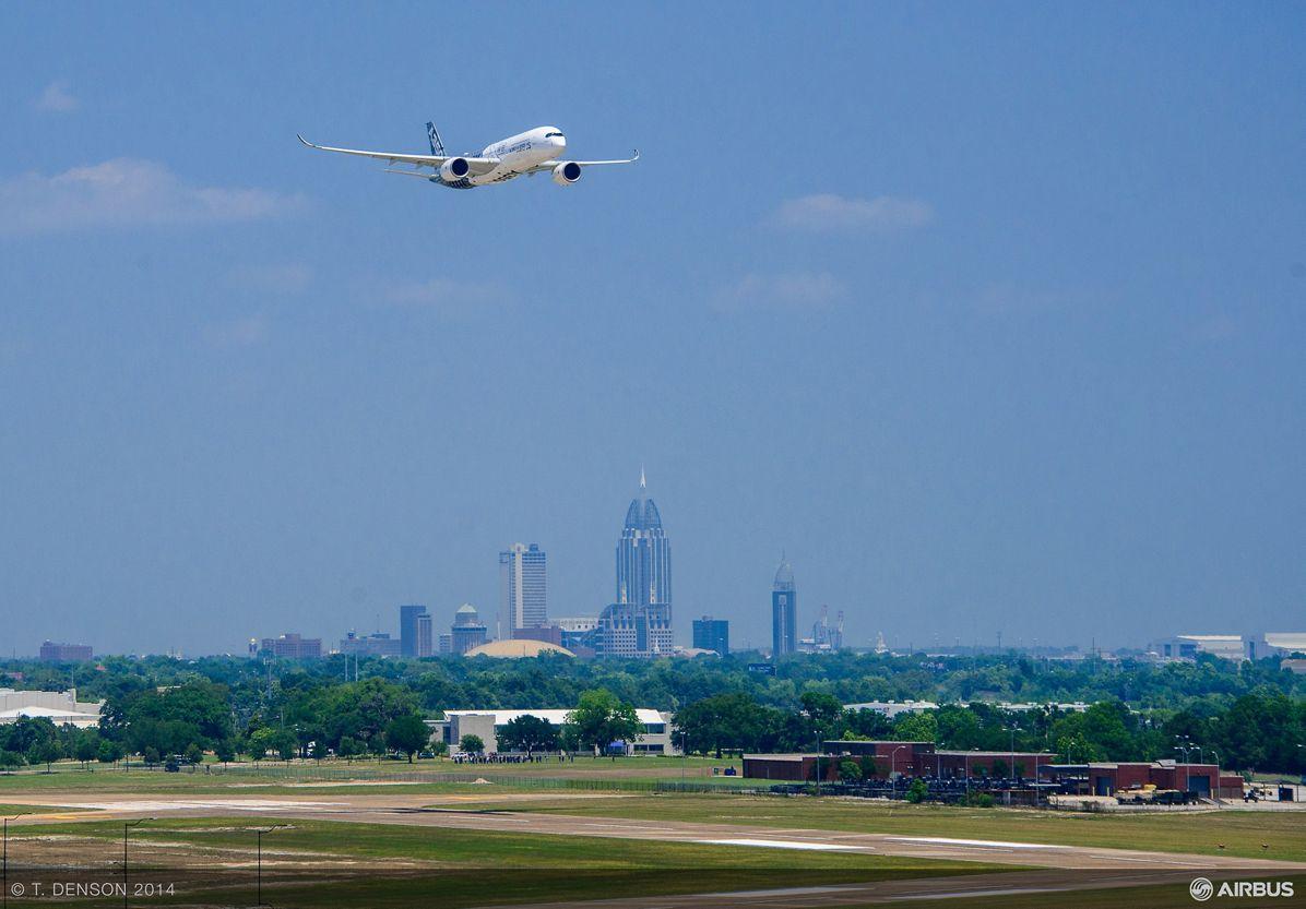 AIRBUS124- A350 Flyover FAL, Mobile A350 XWB flyover 3