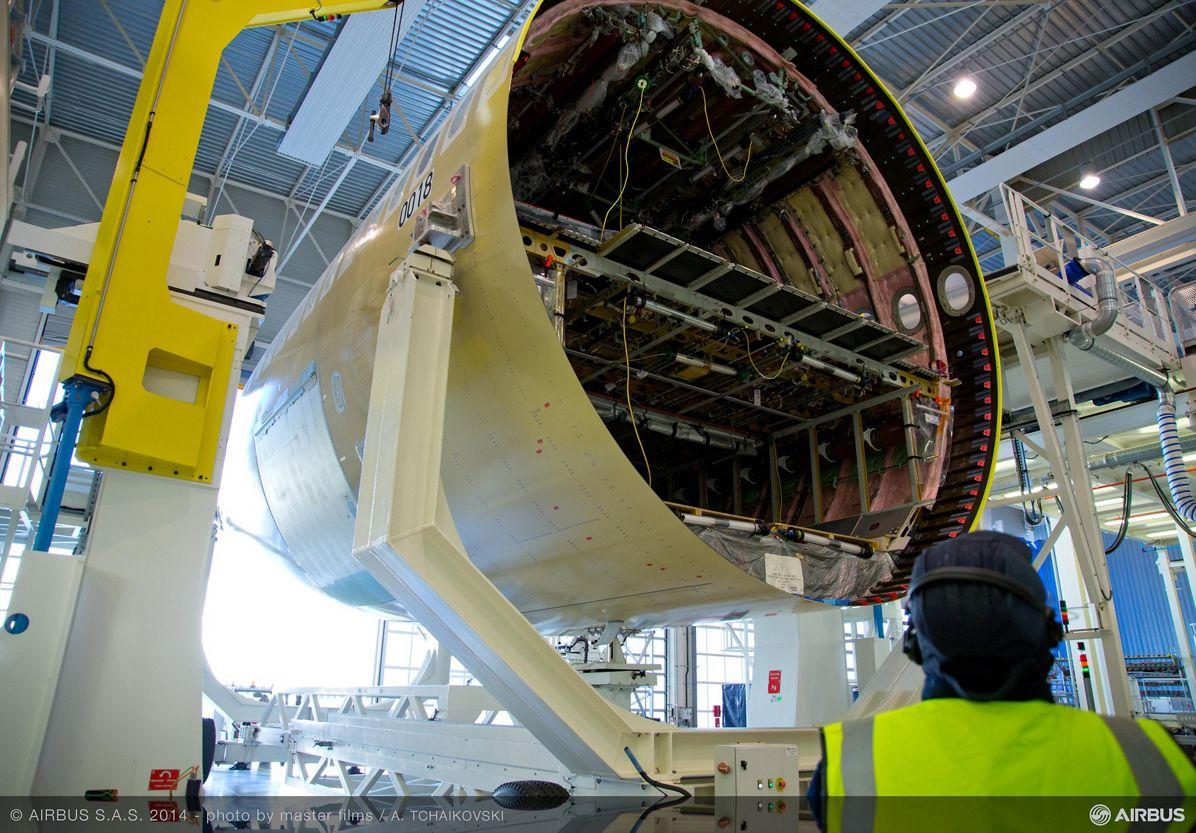 Finnair's first A350 XWB in final assembly_2