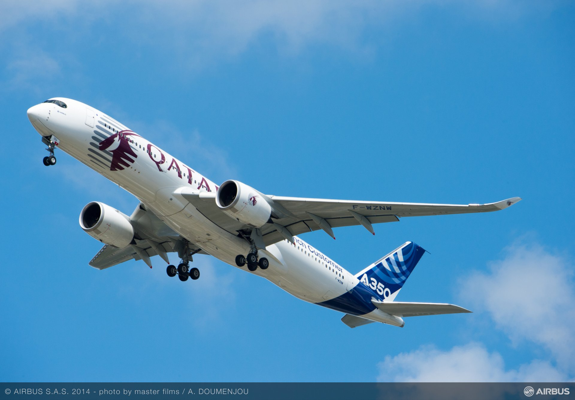 Flight demo: A350 XWB 2