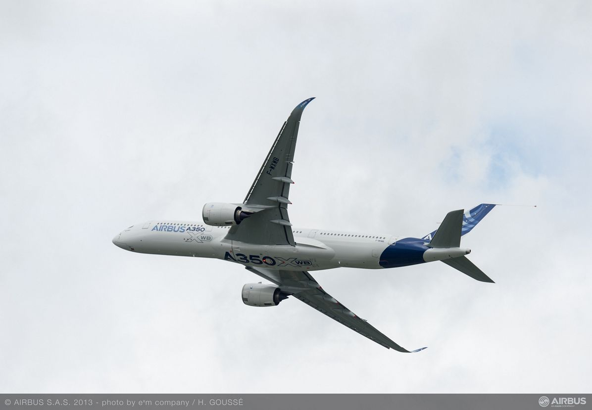 A350 XWB Fly over 5