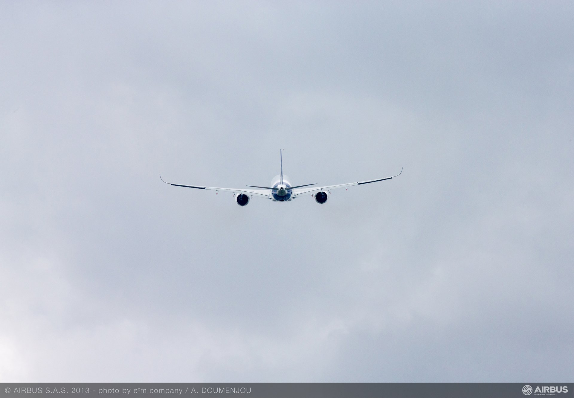 A350 XWB Fly over 7