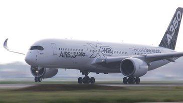 A350 XWB MSN005 route proving tour 4
