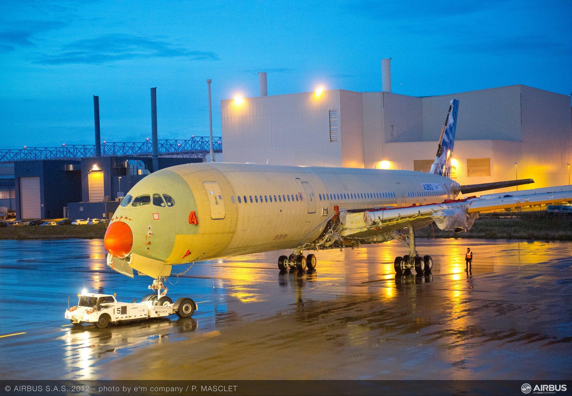 A350 XWB MSN1 journey to station 30